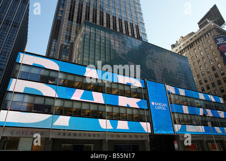Barclays headquarters in New York City - Stock Photo