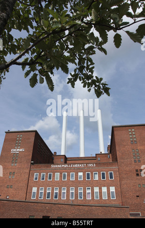 Svanemølleværket, a heat and power station in copenhagen denmark- 2008 - Stock Photo