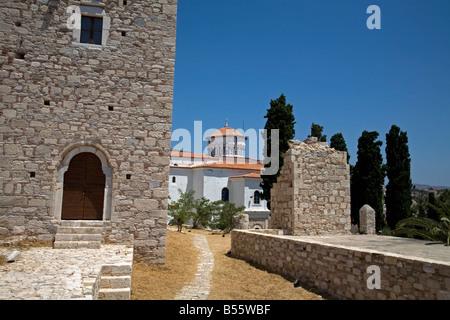 Castle of Lykourgos Logothetis Pythagorion Samos Greece - Stock Photo