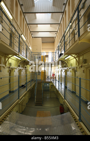 'A' Hall in Craiginches prison in Aberdeen city, Scotland, UK - Stock Photo