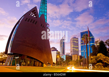Australia, Western Australia, Perth. Cityscape - Stock Photo