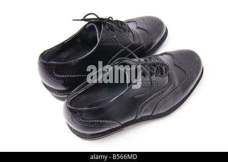 Pair of Men's Shoes - Stock Photo