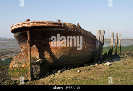 Medway Wreck - Stock Photo