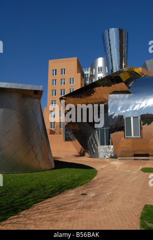 The Ray and Maria Stata Center Designed by Architect Frank Ghery at MIT, Cambridge, Massachusetts, USA