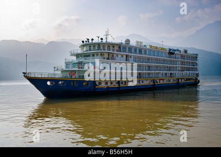 Victoria Cruises Yangtze River Trip China Stock Photo Royalty - Victoria cruises