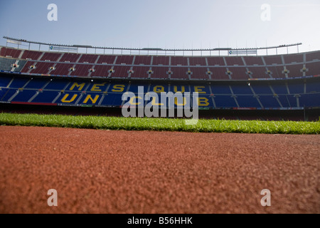 CAMP NOU FC BARCELONA FOOTBALL STADIUM BARCELONAFC FCBARCELONA SPAIN - Stock Photo
