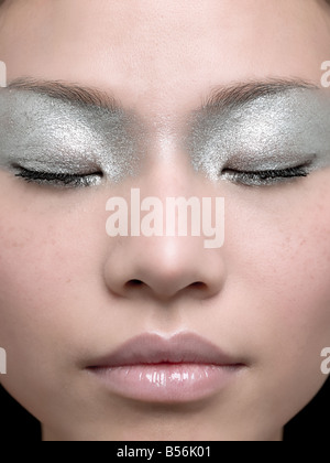 A young woman sleeping - Stock Photo