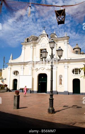 Santa Sofia Church, Anacapri, Capri, Italy - Stock Photo