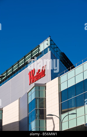 Newly built Westfield Shopping Centre in White City W12 London United Kingdom - Stock Photo