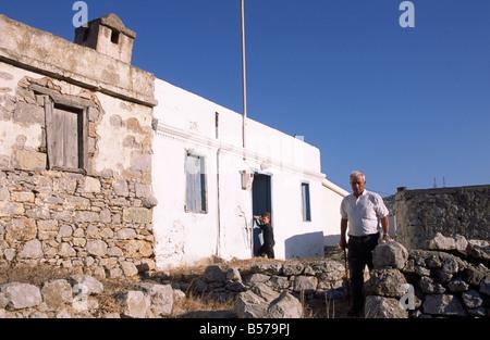 greece, dodecanese islands, karpathos, avlona - Stock Photo