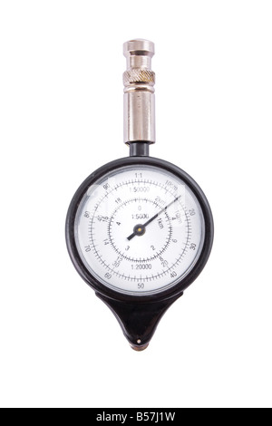 Analogue map measurer isolated on a white background - Stock Photo