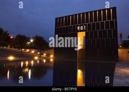 Oklahoma City National Memorial and Museum, Oklahoma City, Oklahoma, United States of America, North America - Stock Photo