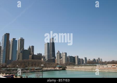 Chicago, Illinois, United States of America, North America - Stock Photo