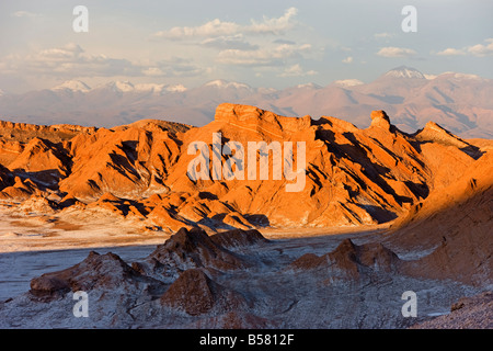 Valle de la Luna (Valley of the Moon), Atacama Desert, Norte Grande, Chile, South America - Stock Photo
