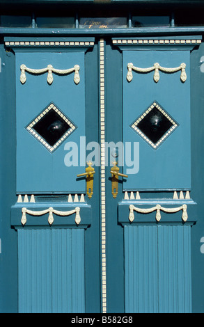Door Aeroskobing Aero Denmark Scandinavia Europe - Stock Photo