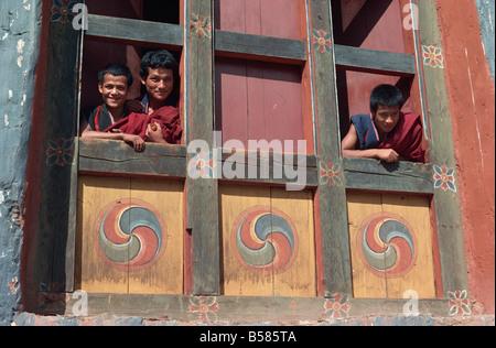 Punakha Dzong Bhutan Asia - Stock Photo