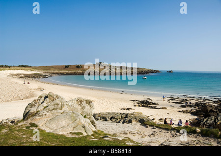 St. Agnes, Isles of Scilly, off Cornwall, United Kingdom, Europe - Stock Photo