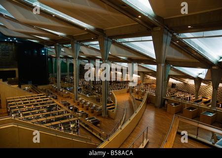 Bibliotheca Alexandrina (Alexandria Library), Alexandria, Egypt, North Africa, Africa - Stock Photo