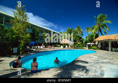 Reef Hotel Resort, Korotogo, Coral Coast, Viti Levu, Fiji, Pacific Islands, Pacific - Stock Photo