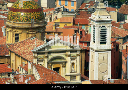 Old Town, Nice, Alpes Maritimes, Provence, France, Europe - Stock Photo