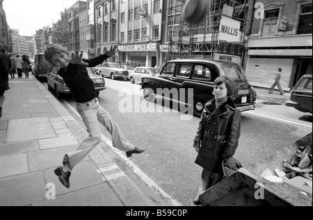11-year-old Terry Yems from East Ham, London, went shopping with his 11-year-old cousin Billy Davis and he came - Stock Photo