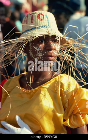 Carnival, Port au Prince, Haiti, West Indies, Central America - Stock Photo