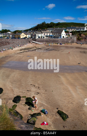 Dunmore East beach, County Waterford, Munster, Republic of Ireland, Europe