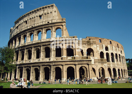 The exterior of the Colosseum in Rome Lazio Italy S Terry - Stock Photo