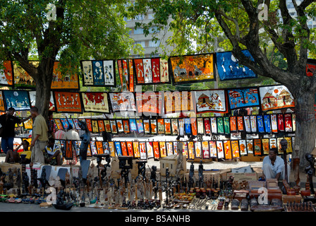 Maputo Crafts Market, Mozambique, East Africa, Africa - Stock Photo