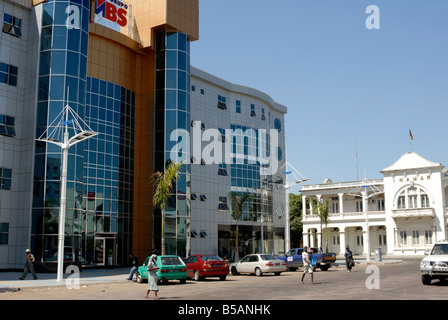 Shopping centre, Maputo, Mozambique, East Africa, Africa - Stock Photo