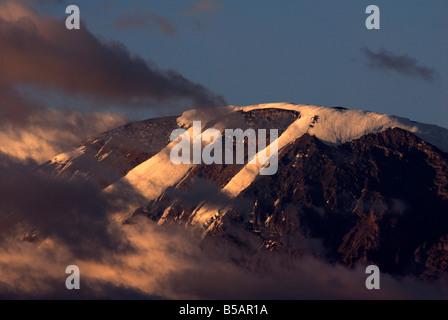 Mount Kilimanjaro, Tanzania, East Africa, Africa - Stock Photo