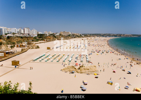 Praia da Rocha beach, Algarve, Portugal, Europe - Stock Photo