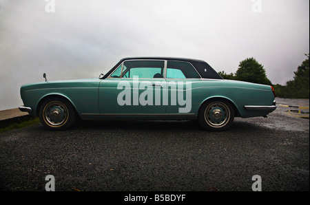 Rolls Royce Corniche Coupe circa 1972 - Stock Photo