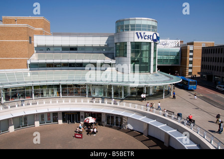 West Quay Shopping Centre, Southampton, Hampshire, England, Europe - Stock Photo