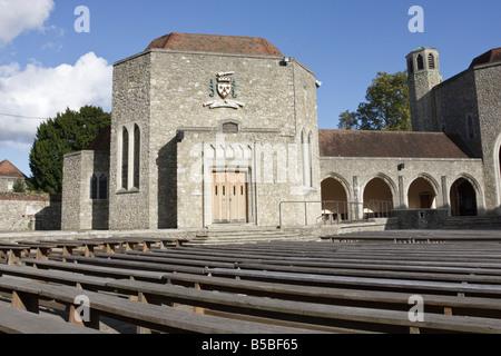 St Joseph's Chapel Aylesford Kent In the Autumn Sunshine - Stock Photo