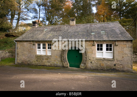 The Old Smithy, Ford village, Northumberland - Stock Photo