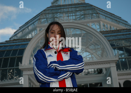 Elizabeth Beth Kimberly Tweddle is a British gymnast - Stock Photo