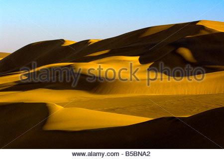 Swakopmund Dunes Namib Desert near Swakopmund Namibia - Stock Photo