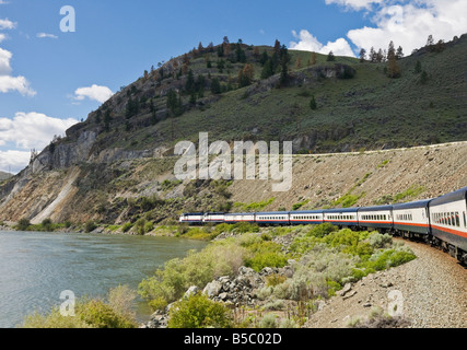 Kamloops British Columbia Canada June 21 2018 Bridge