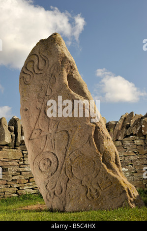 Pictish Standing Stones at Aberlemno, Angus, Scotland