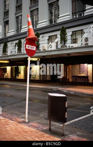 Lambton Quay Wellington New Zealand - Stock Photo