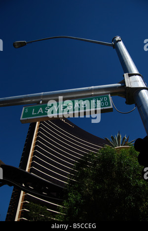 Las Vegas Boulevard, Las Vegas, Nevada - Stock Photo