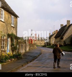 UK England Oxfordshire Spelsbury village - Stock Photo