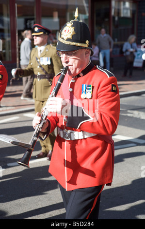 Tunbridge Wells gave Freedom of the Borough to 579 Field Squadron Explosive Ordnance Disposal Volunteers on Sat - Stock Photo
