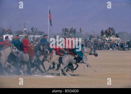 Royal Buzkashi Kabul Afghanistan Asia - Stock Photo