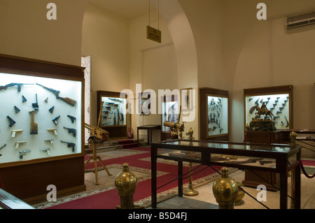 Old weapons displayed at the the Arms museum in Abdeen Palace, Cairo Egypt - Stock Photo