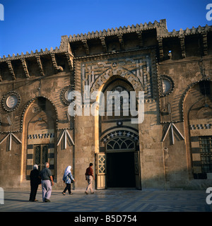 The Grand Mosque founded in 715 Aleppo Syria Middle East C Rennie - Stock Photo