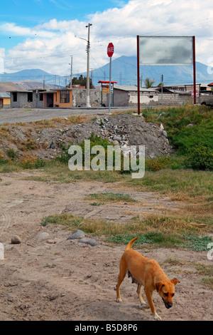 Small town of Salinas, Imbabura Province, Ecuador - Stock Photo