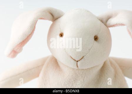 Stuffed rabbit, close-up Stock Photo