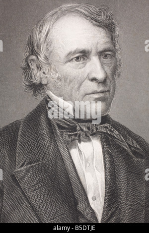 Zachary Taylor 1784 1850 American military leader and 12th President of the United States of America - Stock Photo